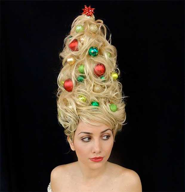 Christmas and New Year hairstyles: original ideas!