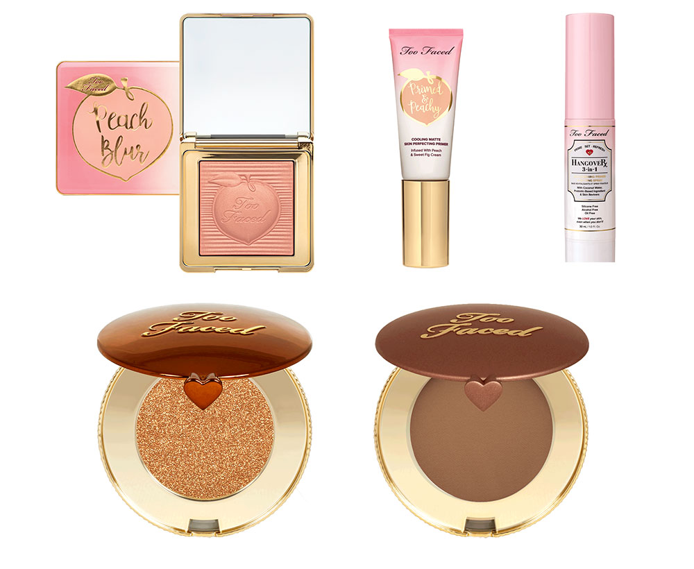 Too Faced products Travel size