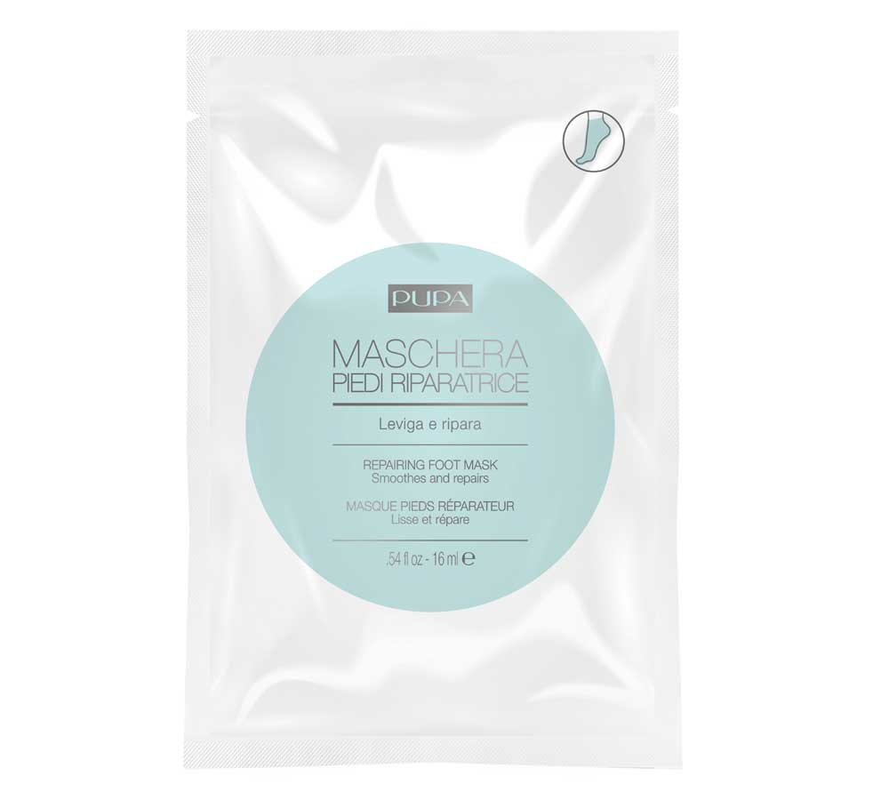 Pupa single-dose masks for face, hands and feet