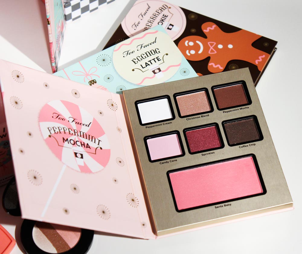 Christmas too faced palette 2016