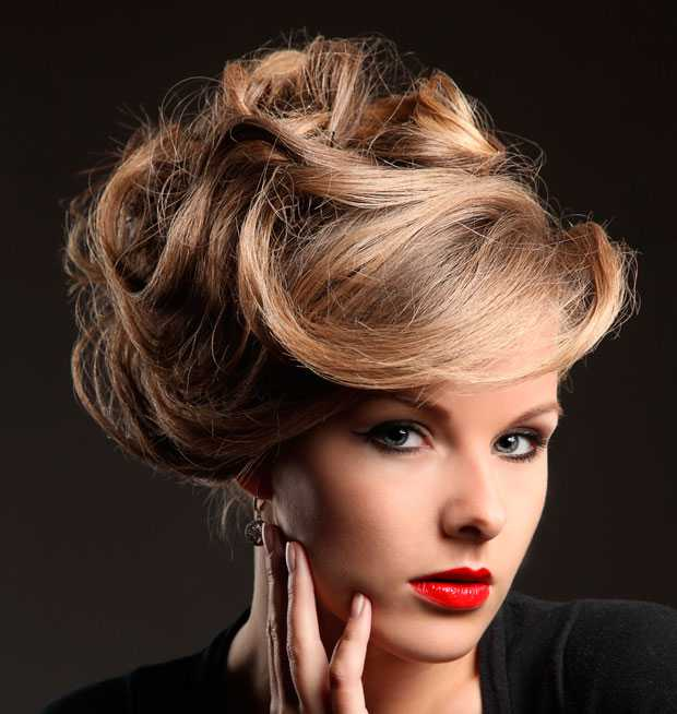 Elegant and sophisticated hairstyle