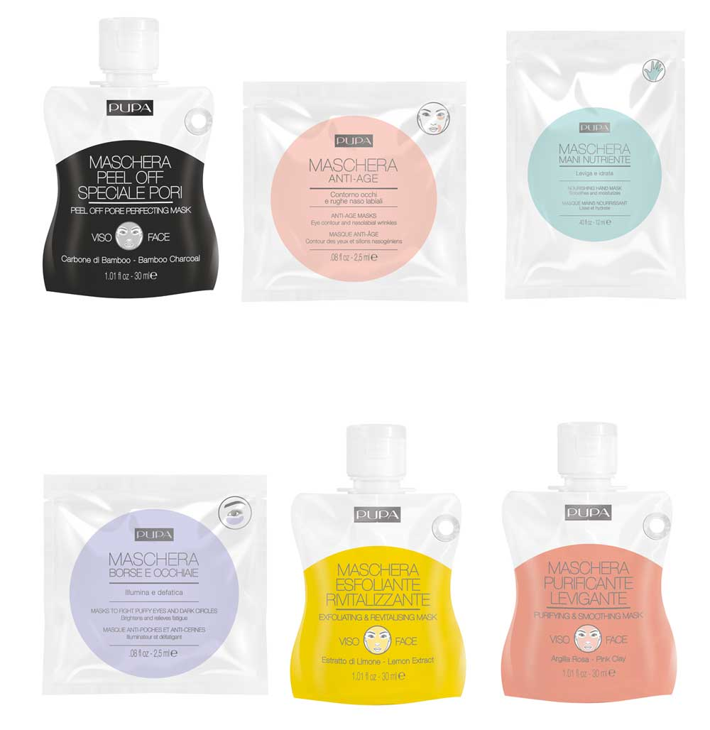 Pupa Single-face face masks