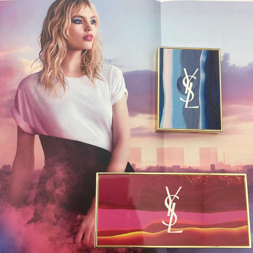 Yves Saint Laurent Pop Illusion, make up Spring 2018