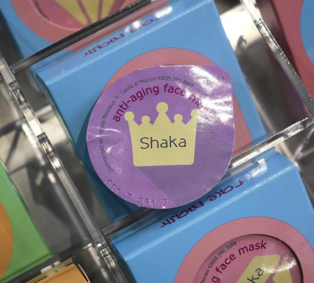 Shaka Innovative Beauty: novelty makeup and skin care winter 2018