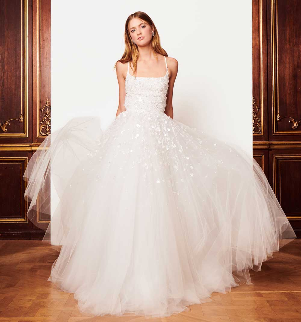 Oscar De La Renta 2019 Wedding Dresses: new collection