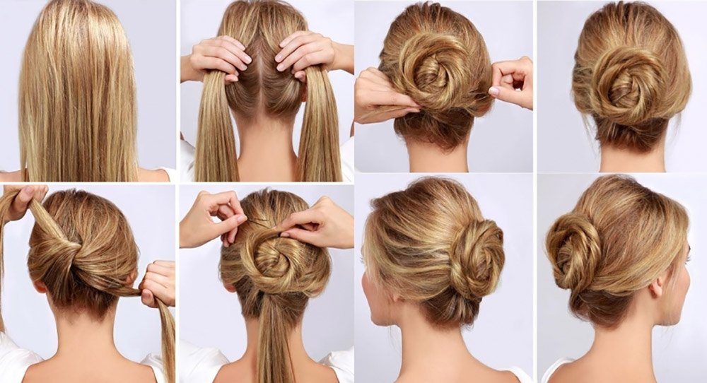Hair collected tutorial