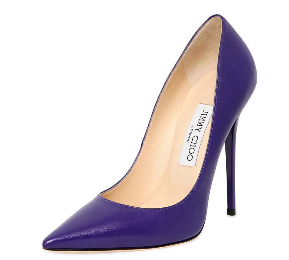 pantone ultra violet shoes