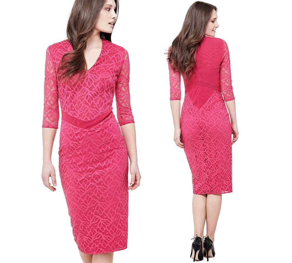 Guess Fuchsia dress