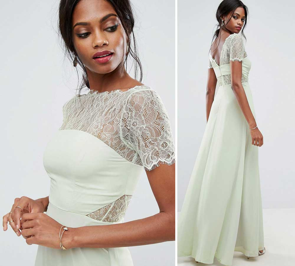 long wedding dresses in lace