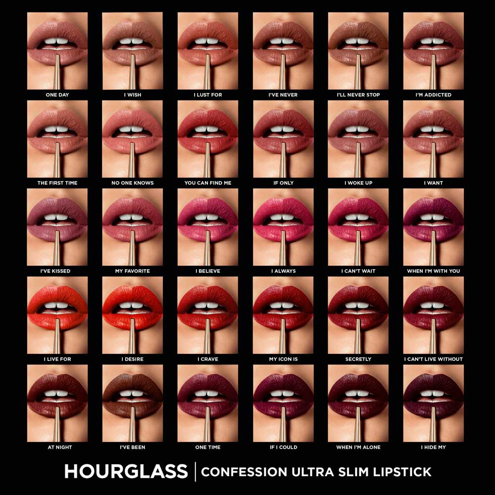 Hourglass Christmas 2017 gift box set lipsticks
