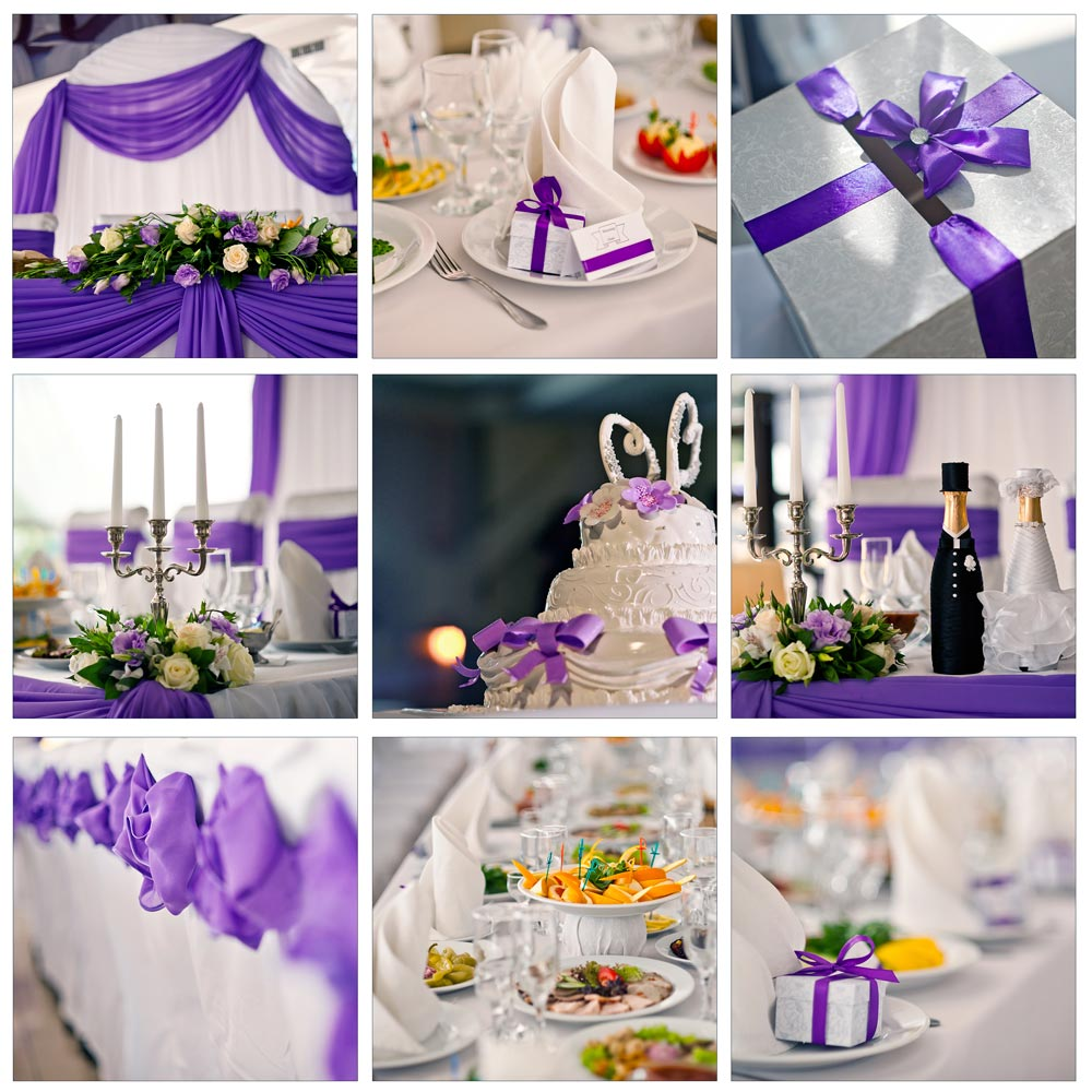 ultra violet pantone wedding trends