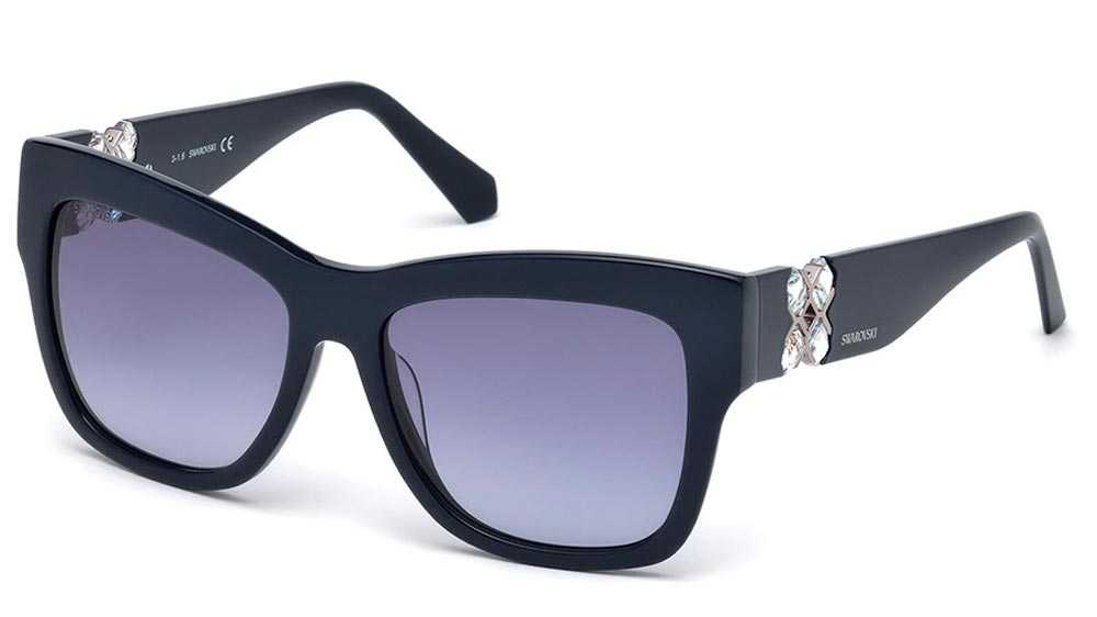 Swarovski dark lens sunglasses
