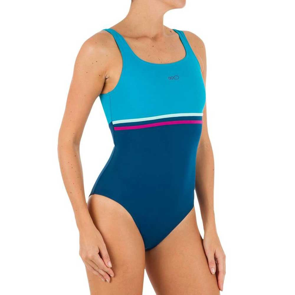 d86079772a310 NABAIJI costume Riana Pop blue white (19.99 euros) Decathlon Costumes 2018:  Photos and Prices