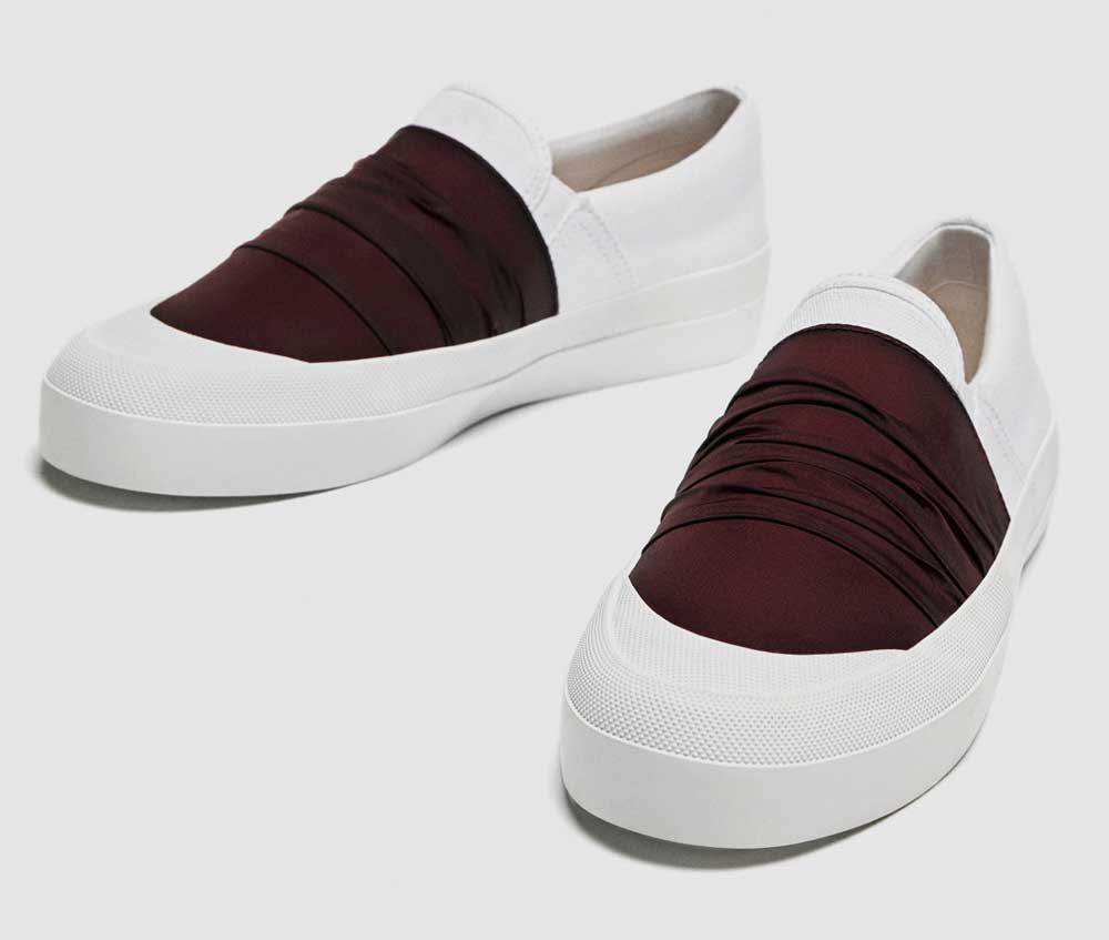 Zara sneakers spring summer 2018