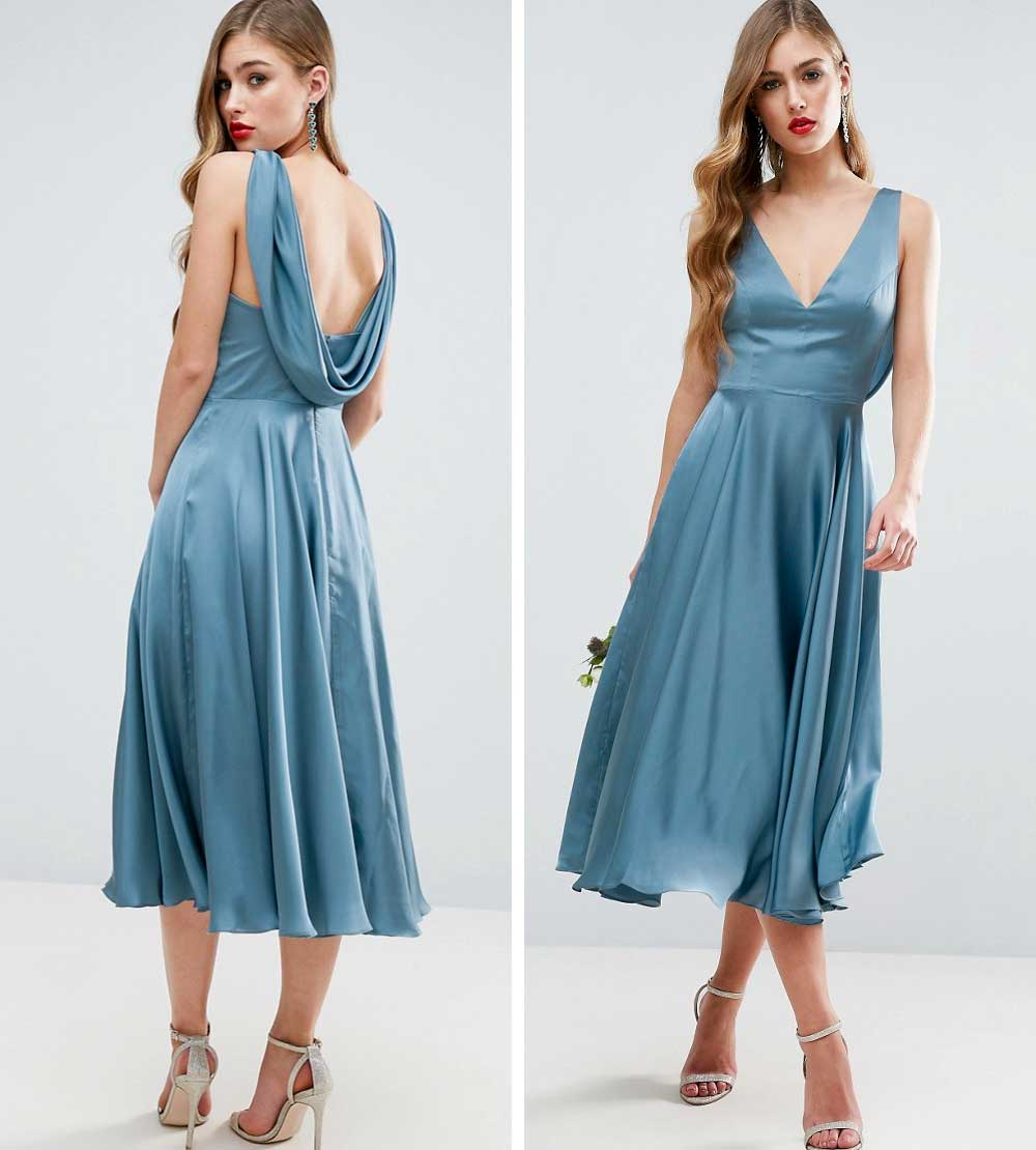 Blue ceremony dress 2018