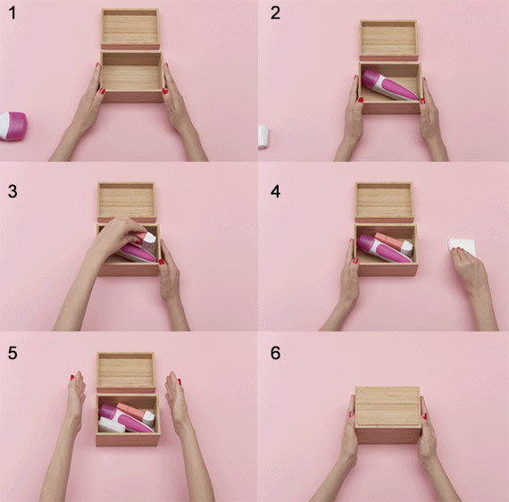 how to put waxing in order