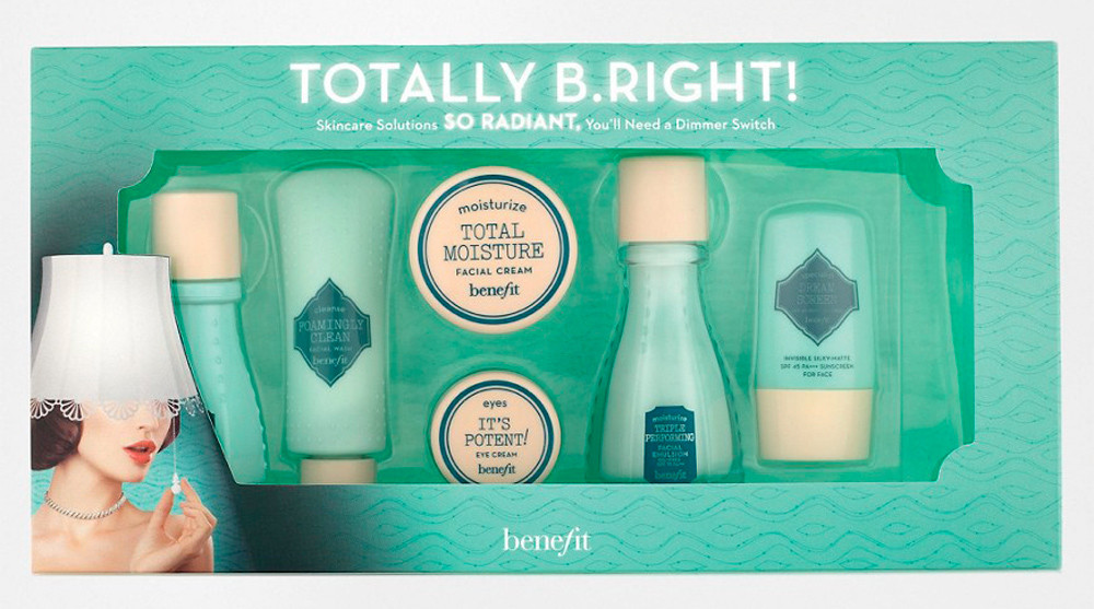 Benefit Totally b.right!  6pc Skincare Set