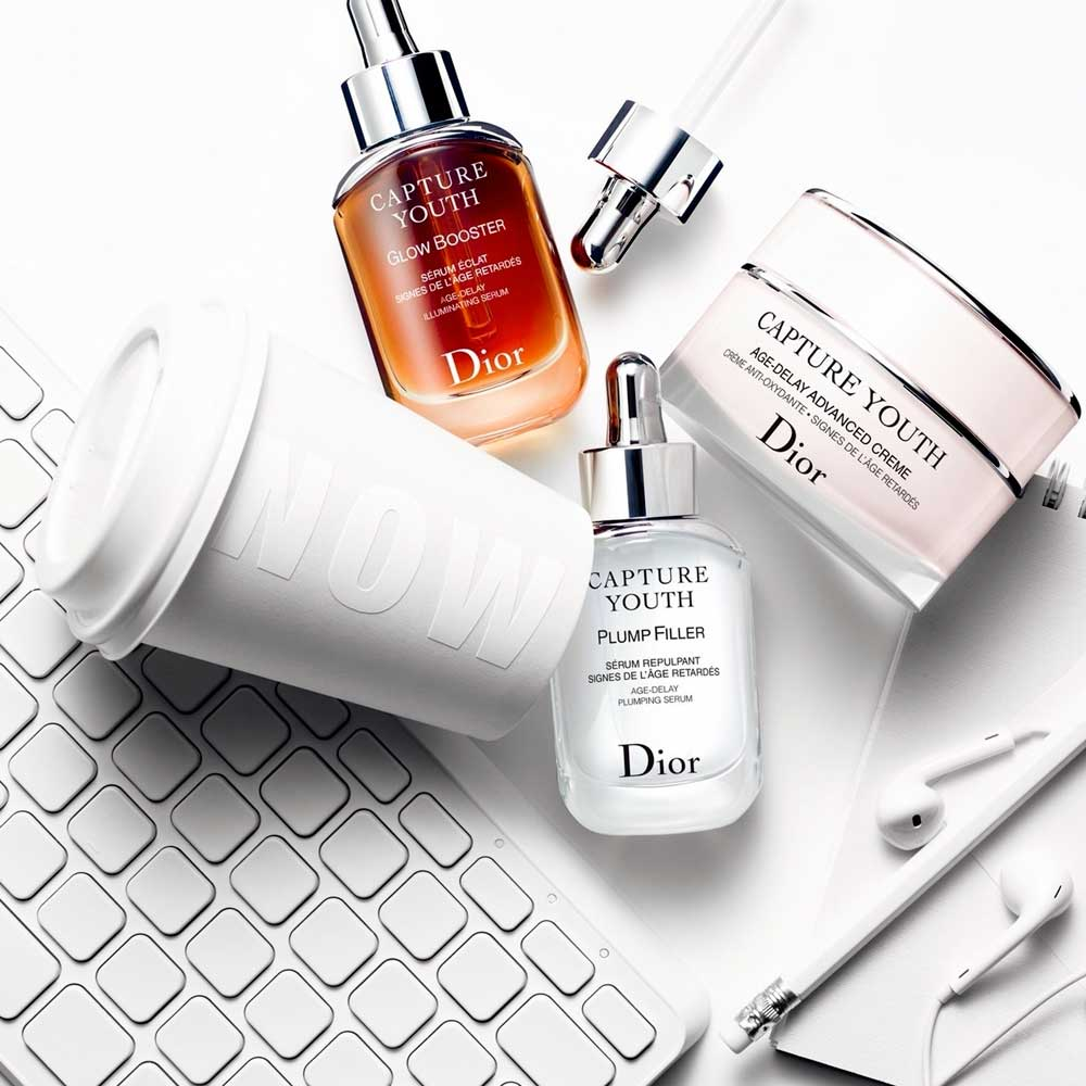 Dior anti-aging creams and serums