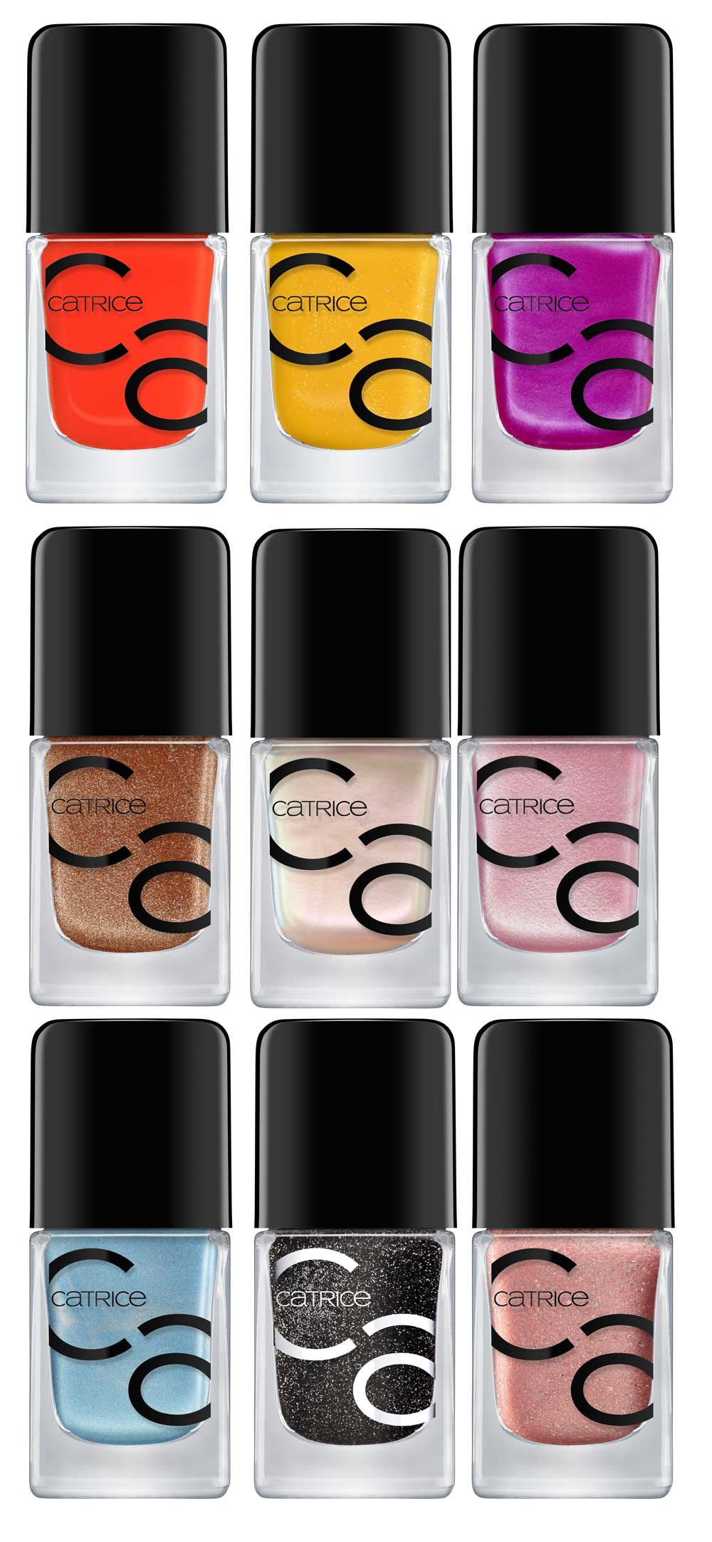 Catrice nail polish for colored nails