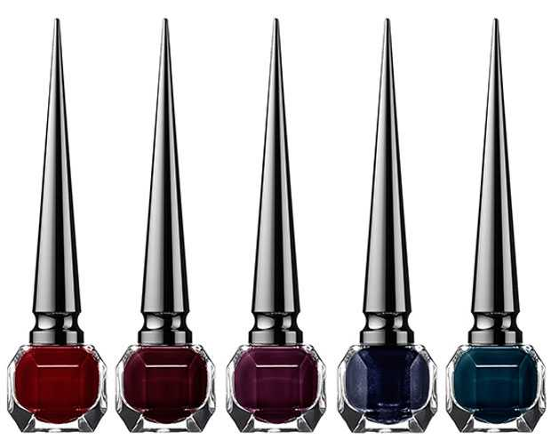 Louboutin The Noirs nail polishes