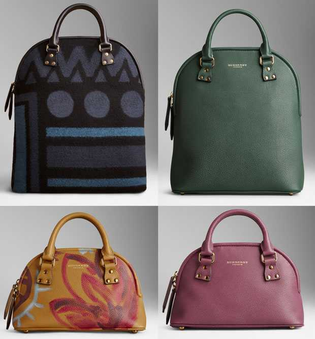 Burberry bags autumn winter 2014 2015: photos and prices