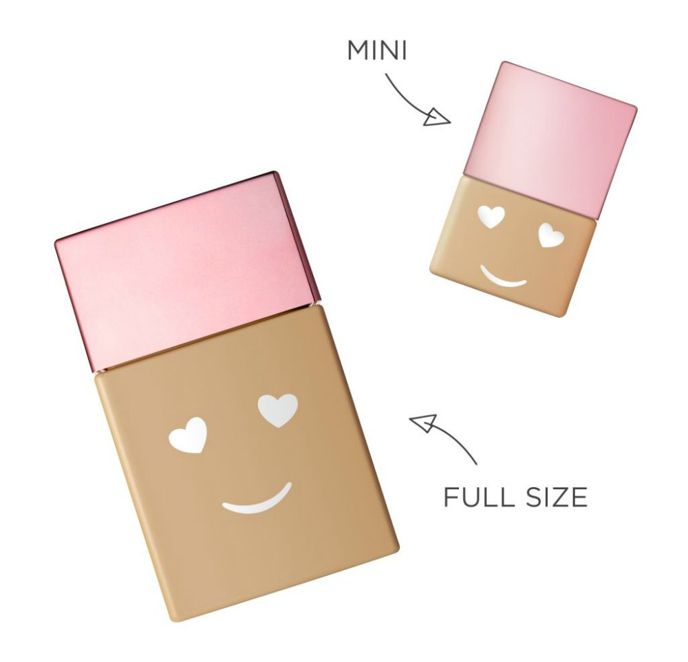 full size and mini size foundations benefit