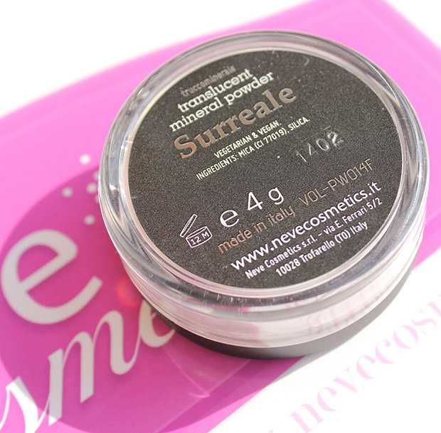 Snow Cosmetics Surreal Face Powder