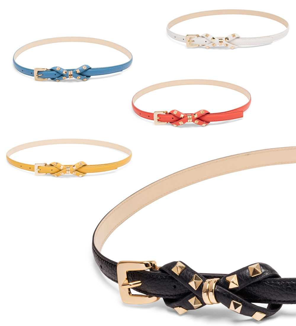 Luisa Spagnoli accessories: the belts collection