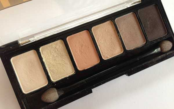 eye shadow palette nyx natural