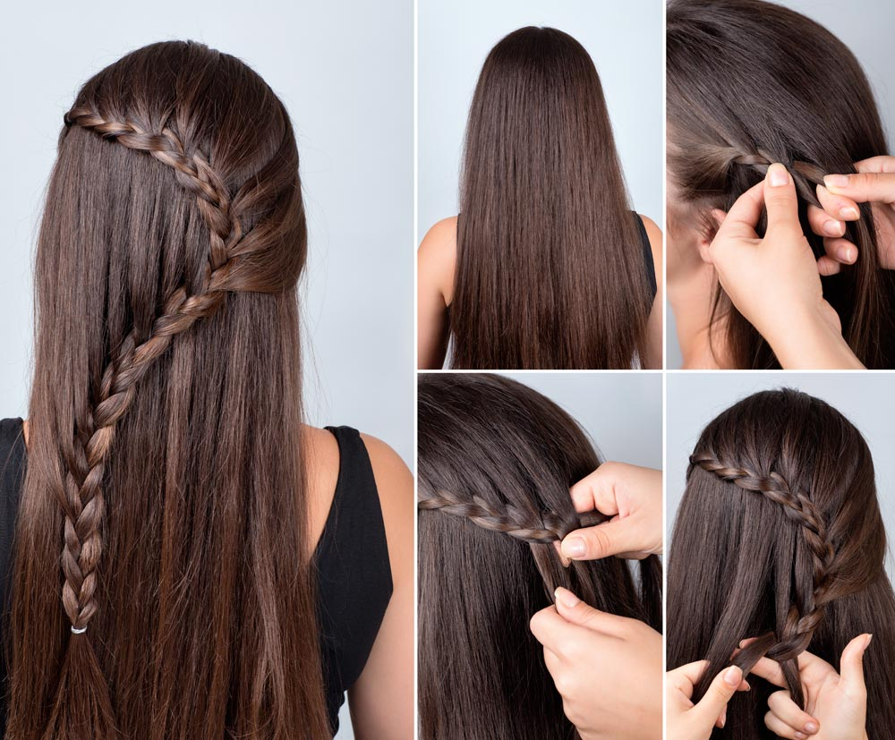 Cascading braid tutorial