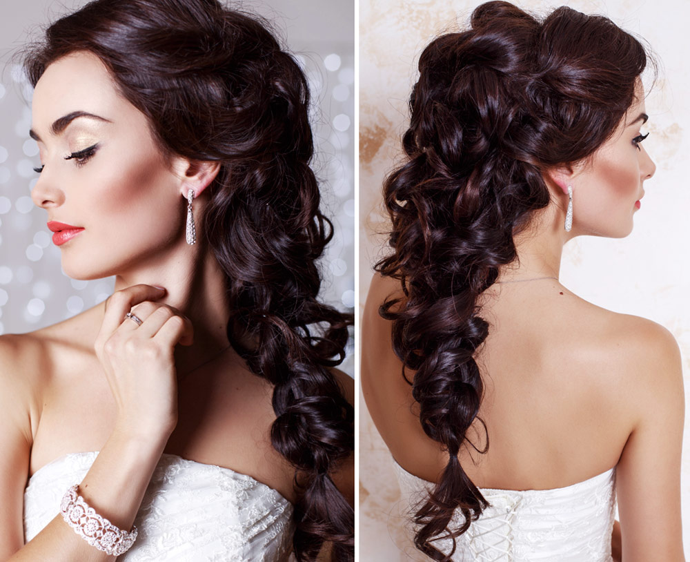 Hairstyles for Bride Long Hair