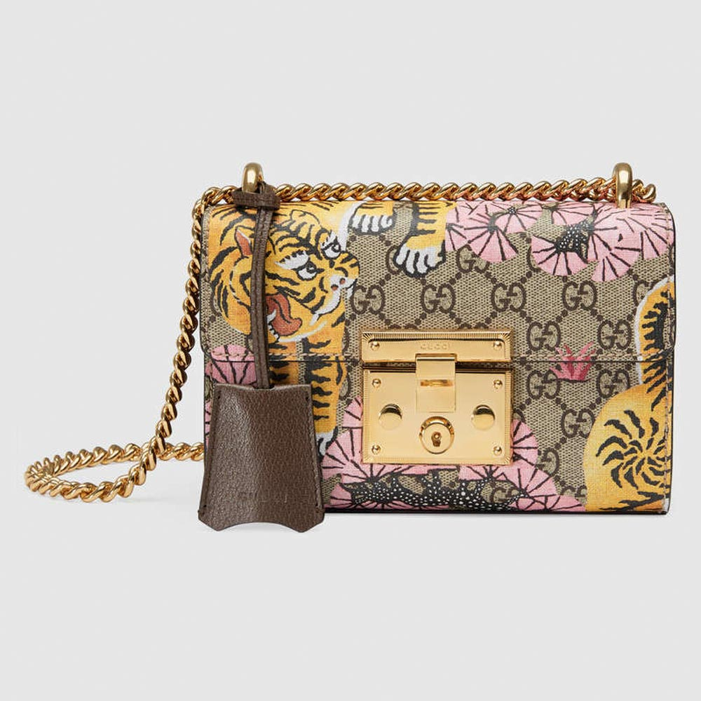 Gucci bag with tiger