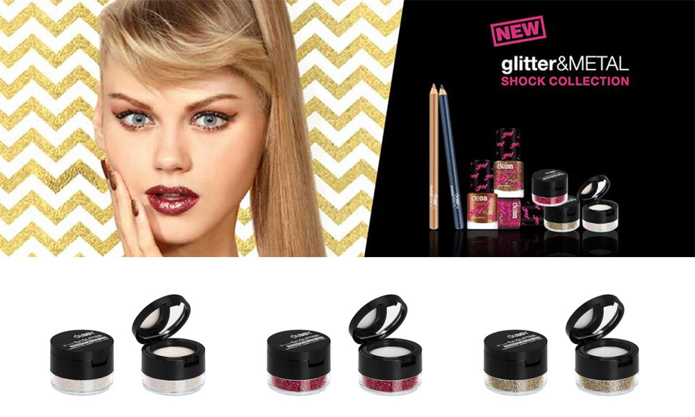 Debby Glitter & Metal: makeup collection and nail polishes for the holidays