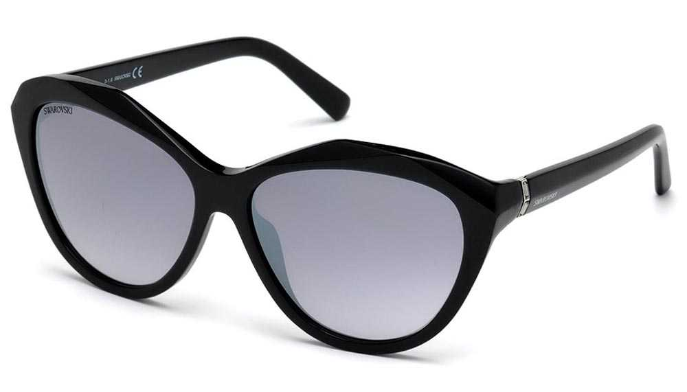 Swarovski smoked lenses sunglasses