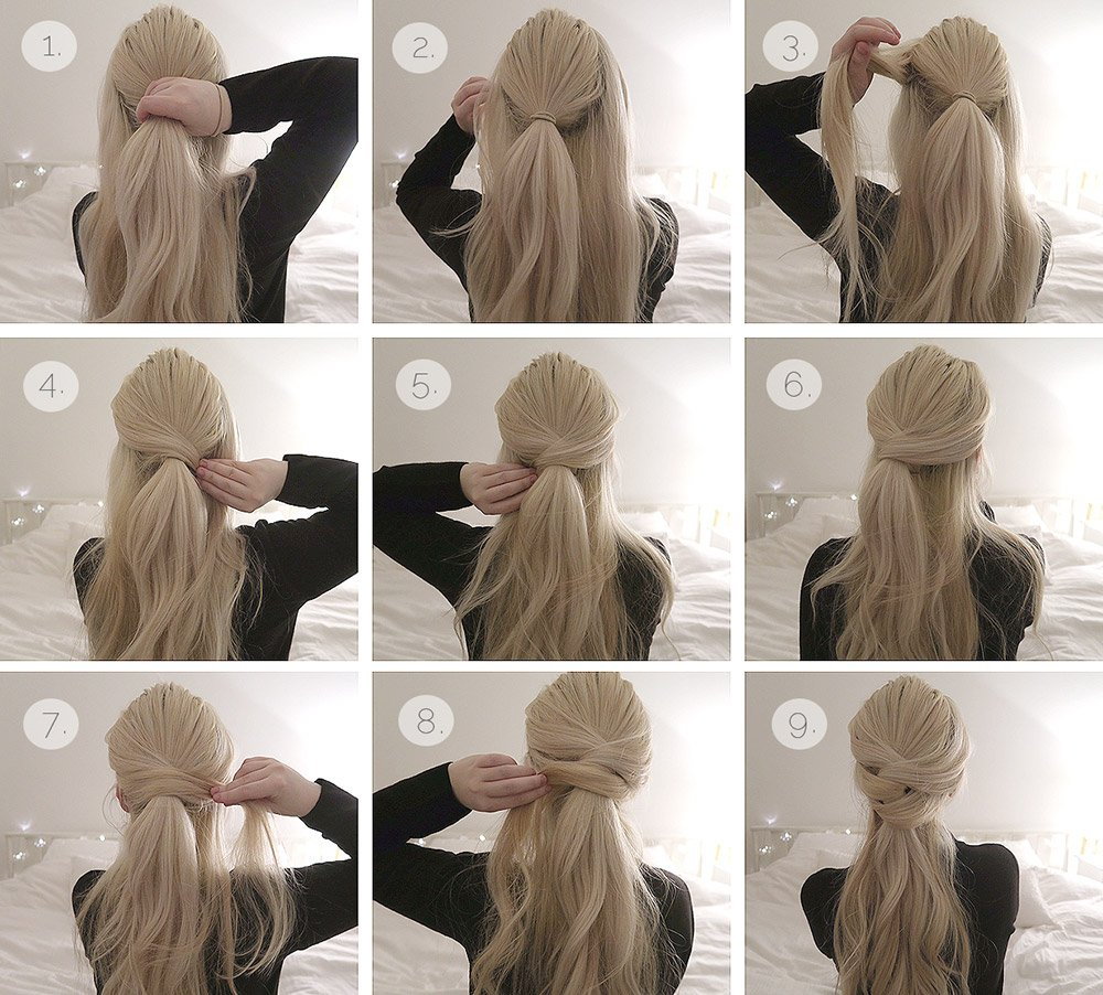 Hair styling Christmas tutorials