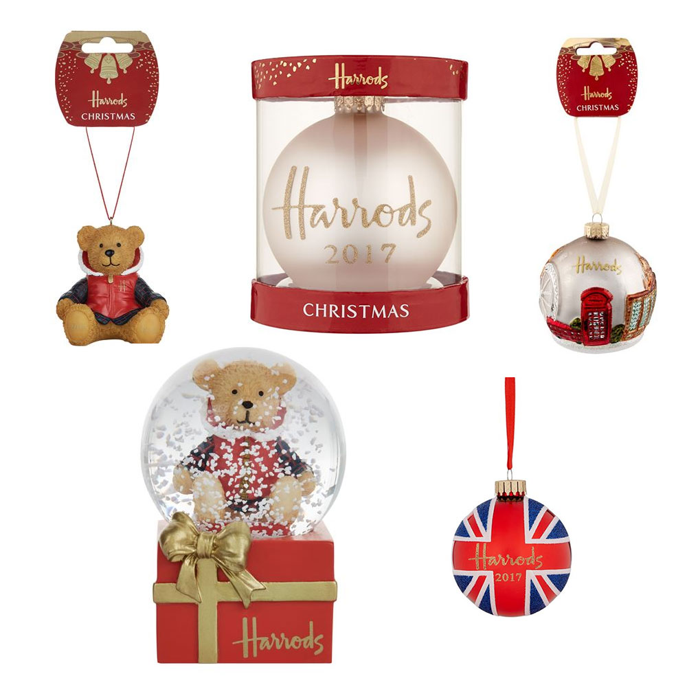 Harrods Christmas 2017: decorations and gift ideas