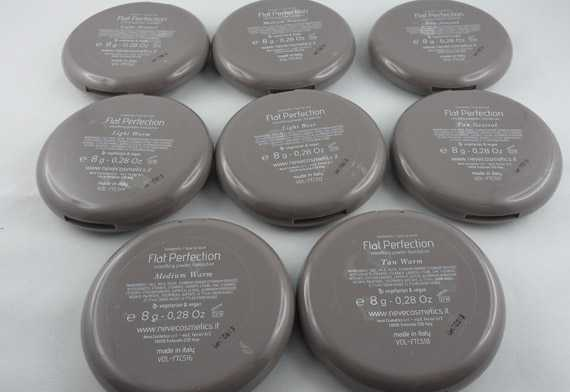 foundations snow cosmetics flat perfection