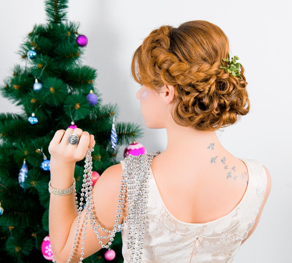 Collected Christmas hairstyles