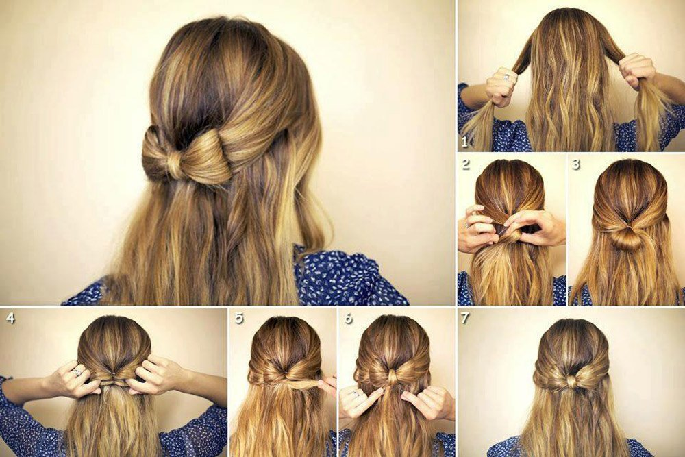 Bow hair tutorial