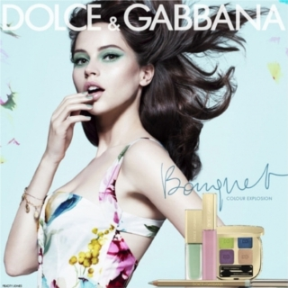 Dolce & Gabbana Bouquet, Spring 2012 make-up collection