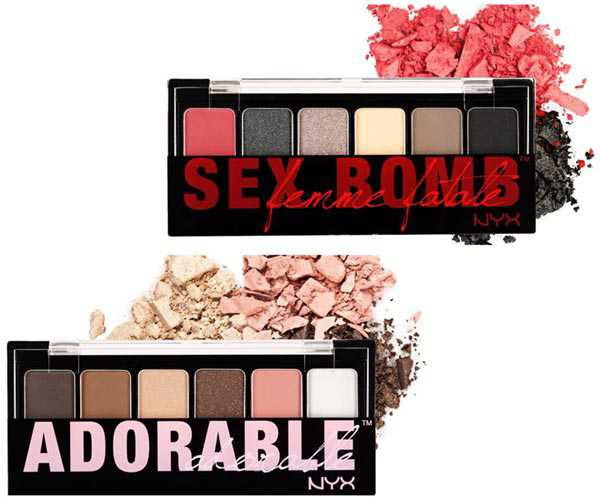 Adorable and Sex Bomb: new NYX makeup palette