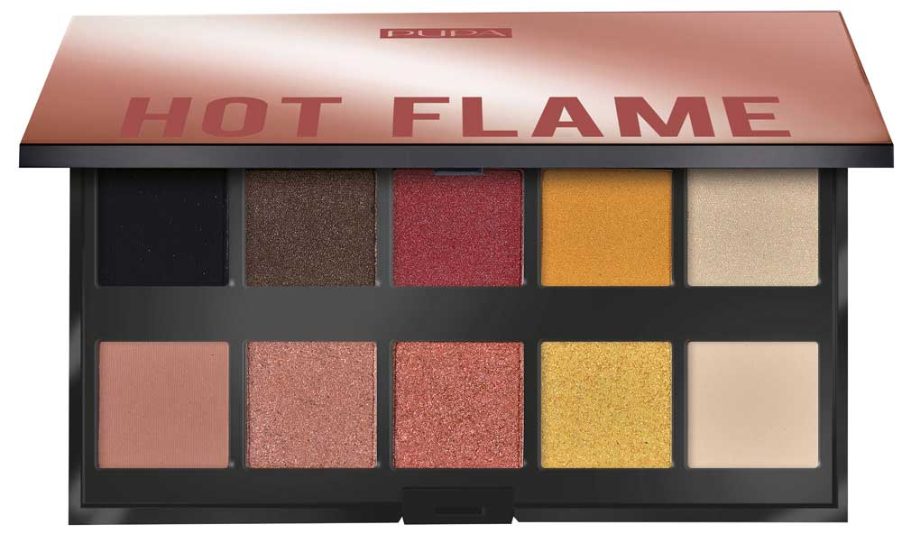 Pupa Palette Hot Flame Make up Stories