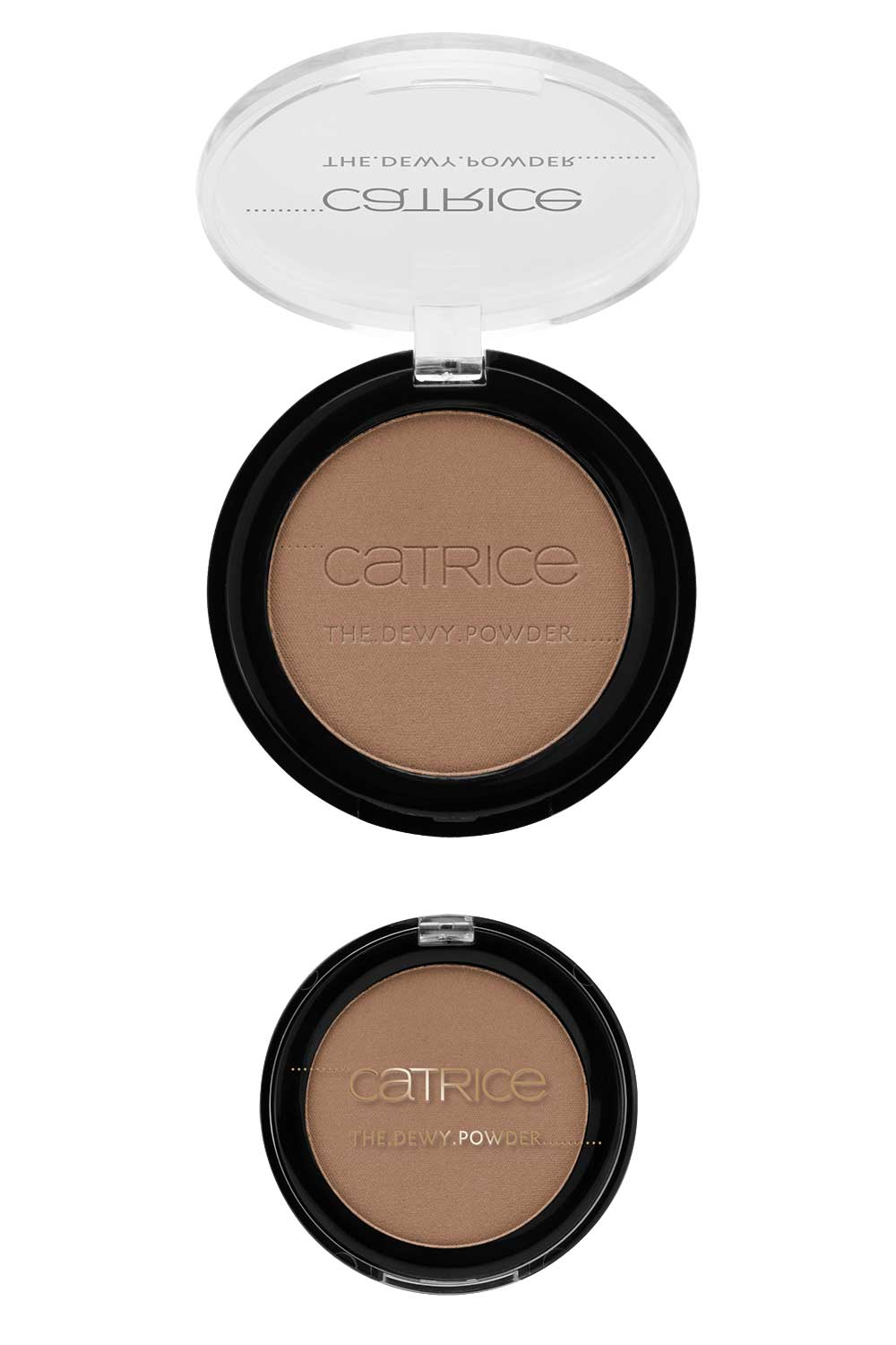 Catrice The Dewy Routine illuminating compact bronze