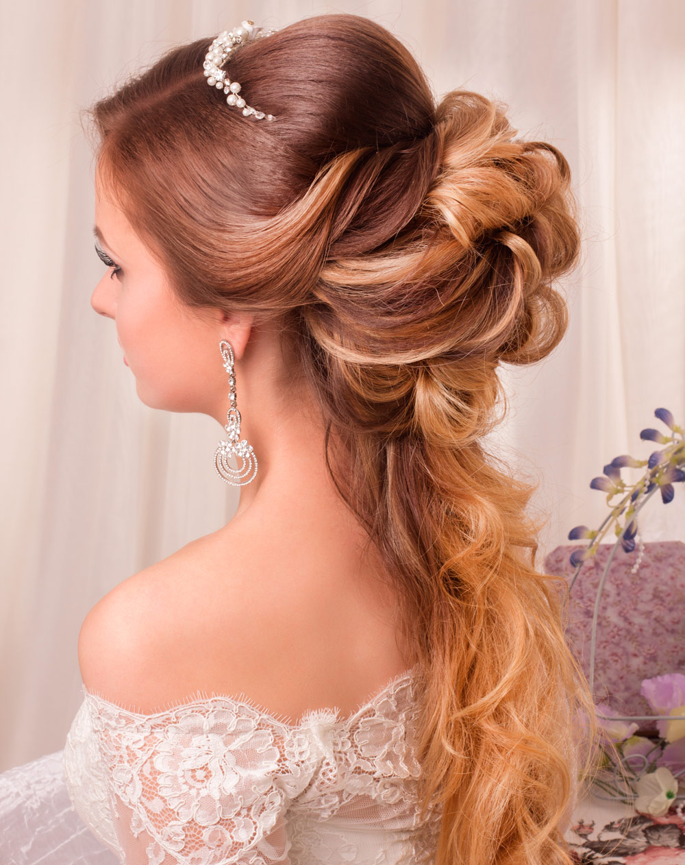 Long Wedding Hair Hairstyles