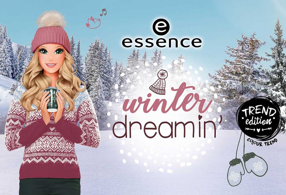 essence winter dreamin 'winter makeup collection 2018