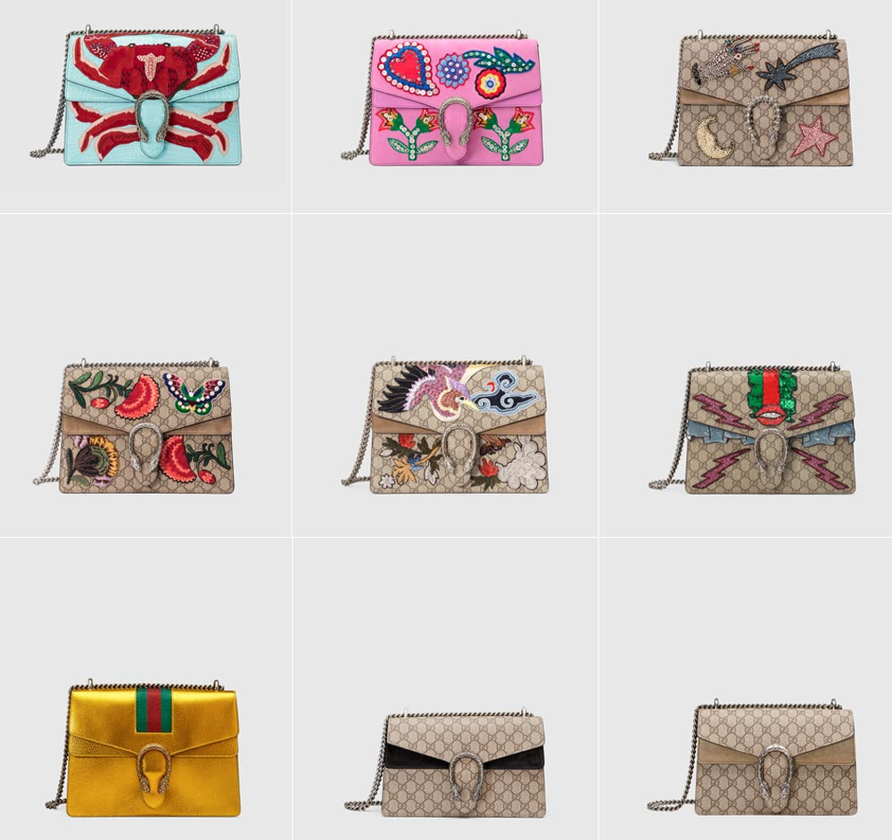 Gucci bags SS 2017