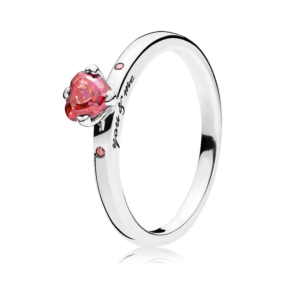 Ring with Pandora heart