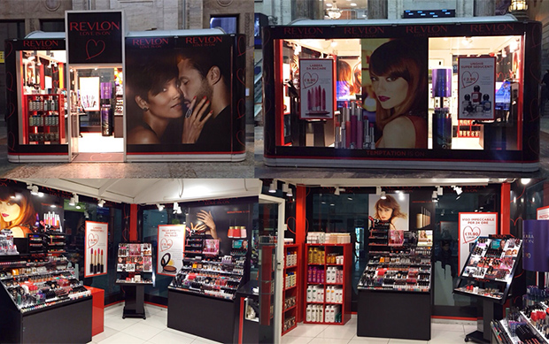 Revlon in Milan: here is the new Temporary Store!