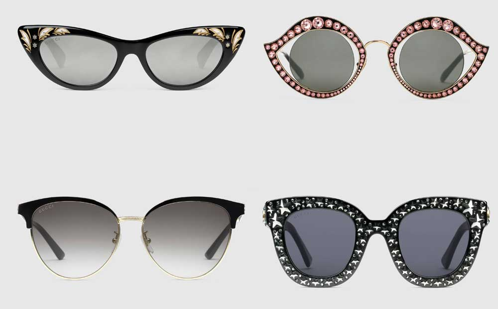 Gucci 2018 sunglasses for men and women: Catalog