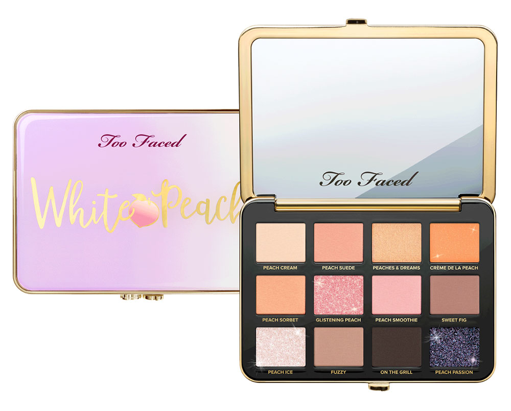 White Peach Too Faced Palette